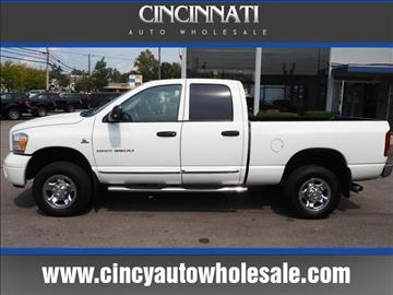 2006 Dodge Ram Pickup 3500 for sale at Cincinnati Auto Wholesale in Loveland OH