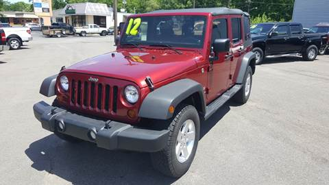 2012 Jeep Wrangler Unlimited for sale in Loveland, OH