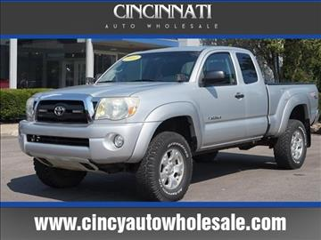 2007 Toyota Tacoma for sale at Cincinnati Auto Wholesale in Loveland OH