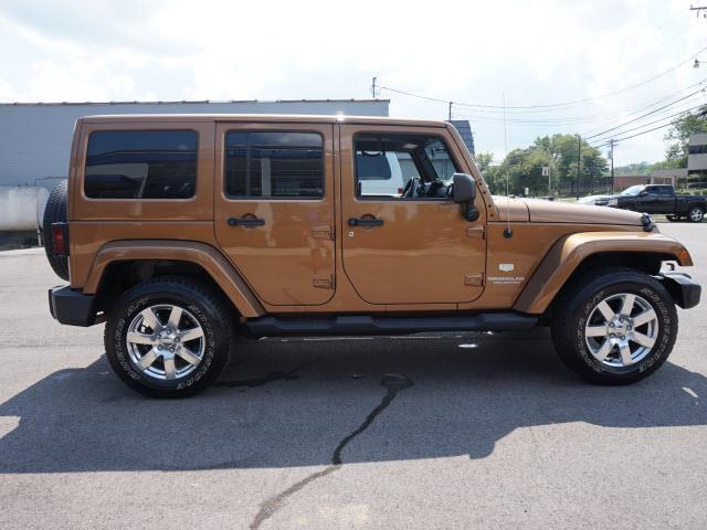 2011 Jeep Wrangler Unlimited for sale at Cincinnati Auto Wholesale in Loveland OH