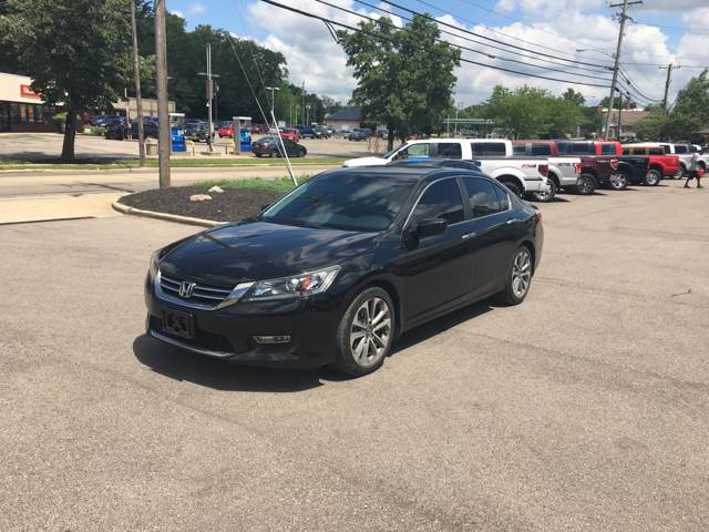 2013 Honda Accord for sale at Cincinnati Auto Wholesale in Loveland OH
