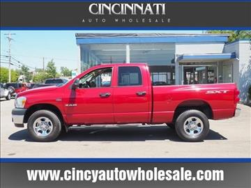2008 Dodge Ram Pickup 1500 for sale at Cincinnati Auto Wholesale in Loveland OH