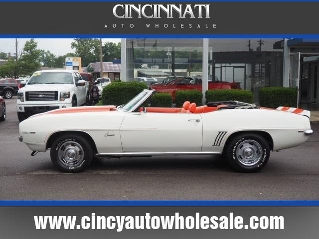 1969 Chevrolet Camaro for sale at Cincinnati Auto Wholesale in Loveland OH