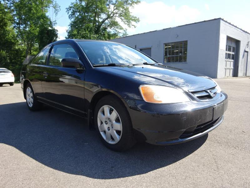 2002 Honda Civic for sale at Cincinnati Auto Wholesale in Loveland OH