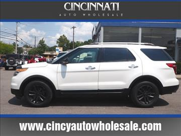 2012 Ford Explorer for sale at Cincinnati Auto Wholesale in Loveland OH