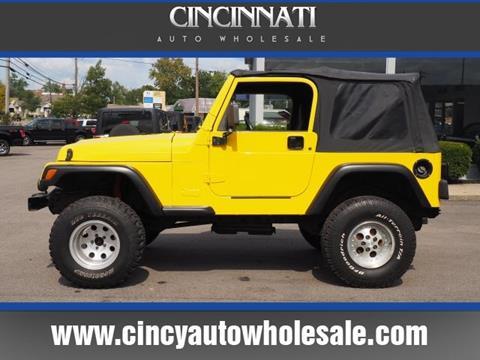 2000 Jeep Wrangler for sale in Loveland, OH