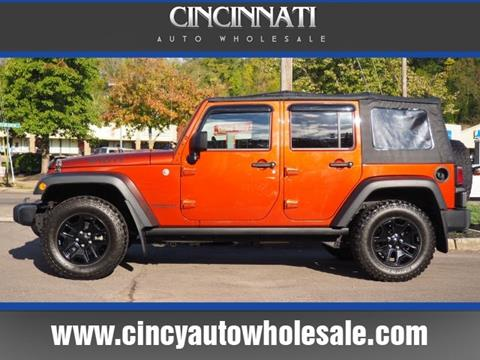 2014 Jeep Wrangler Unlimited for sale in Loveland, OH