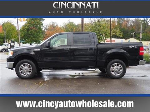2008 Ford F-150 for sale at Cincinnati Auto Wholesale in Loveland OH