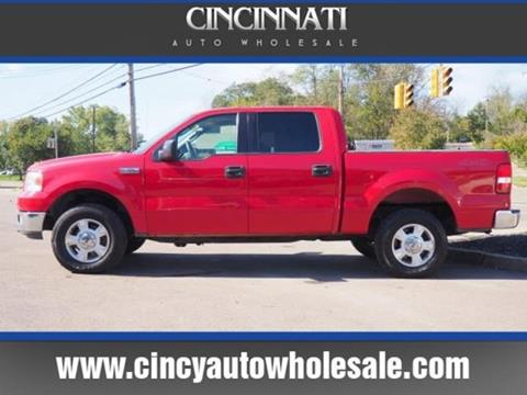 2004 Ford F-150 for sale at Cincinnati Auto Wholesale in Loveland OH