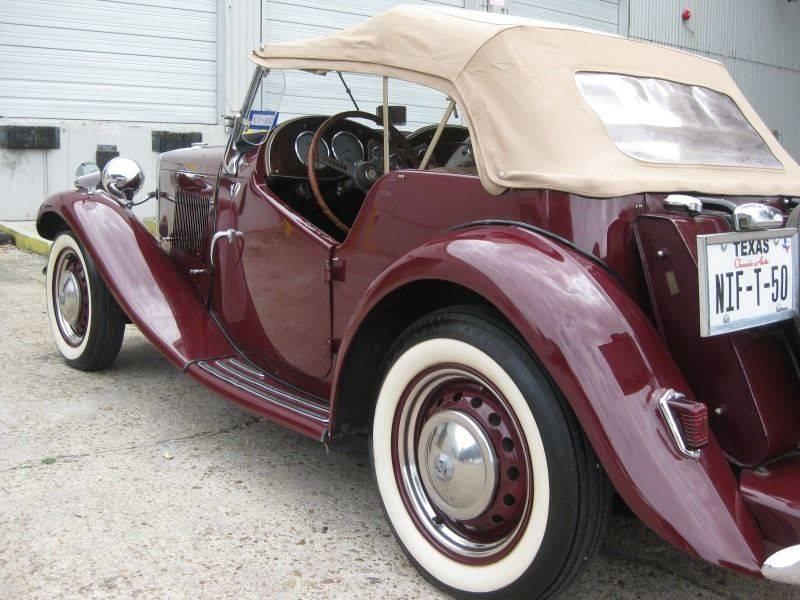 1950 MG TD  - Spring TX