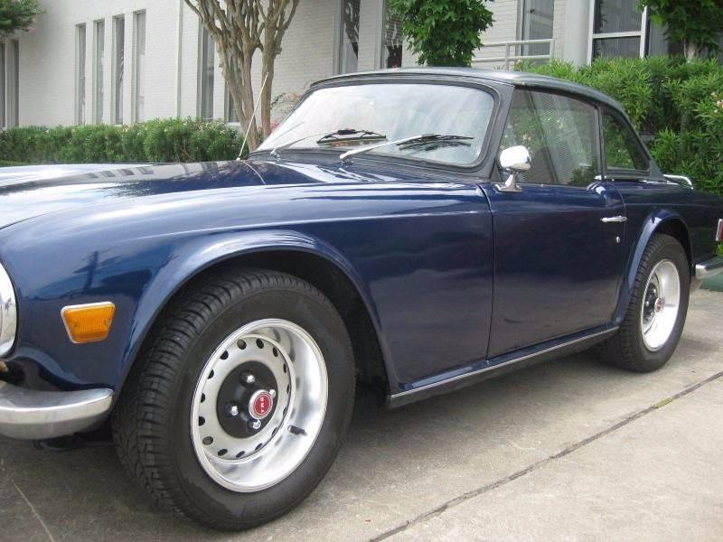 1970 Triumph TR6  - Spring TX