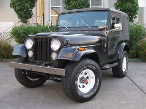 1974 Jeep CJ-5 for sale in Spring, TX