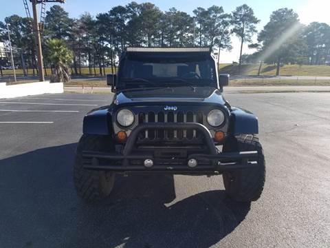 2007 Jeep Wrangler Unlimited for sale in Mobile, AL