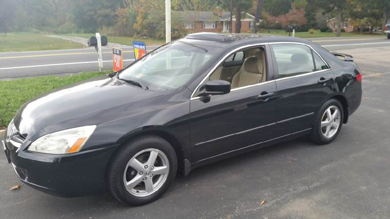 2005 honda accord ex in elkton va hoover auto sales llc. Black Bedroom Furniture Sets. Home Design Ideas