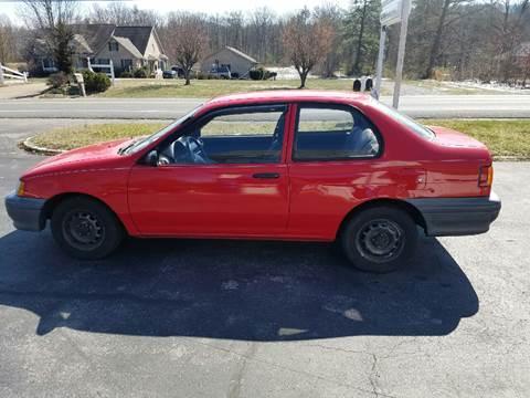 1991 Toyota Tercel for sale in Elkton, VA