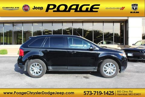 Poage Quincy Il >> 2012 Ford Edge For Sale In Hannibal Mo
