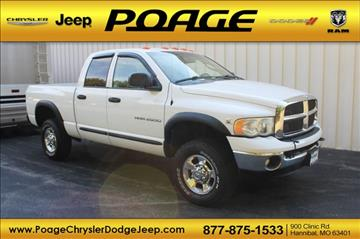 2005 Dodge Ram Pickup 2500 for sale in Hannibal, MO