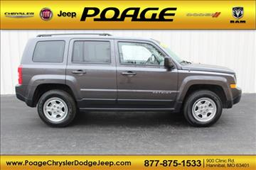 2016 Jeep Patriot for sale in Hannibal, MO