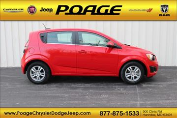2015 Chevrolet Sonic for sale in Hannibal, MO