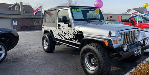 2006 Jeep Wrangler for sale in Valparaiso, IN