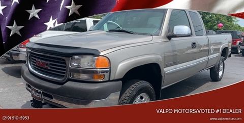 2001 GMC Sierra 2500HD for sale in Valparaiso, IN