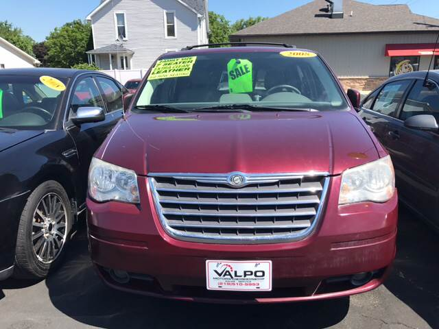 2008 chrysler town and country touring in valparaiso in valpo motors. Black Bedroom Furniture Sets. Home Design Ideas