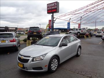 2011 Chevrolet Cruze For Sale Indiana