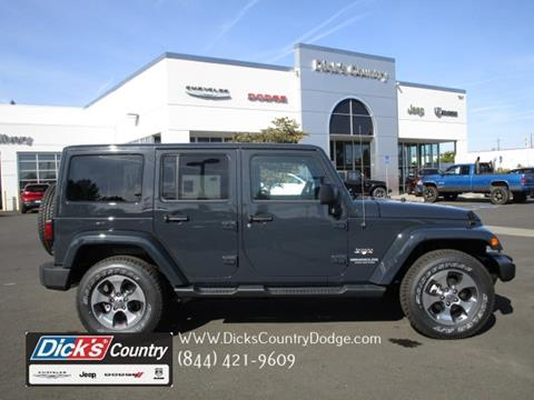 2017 Jeep Wrangler Unlimited for sale in Hillsboro, OR