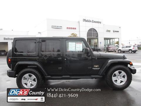 2012 Jeep Wrangler Unlimited for sale in Hillsboro, OR