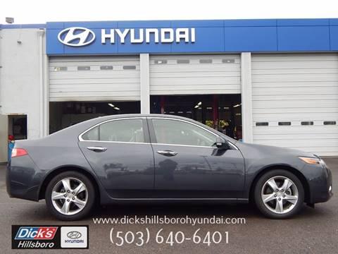 2013 Acura TSX for sale in Hillsboro, OR