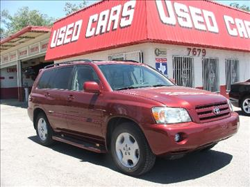 2007 Toyota Highlander for sale in El Paso, TX
