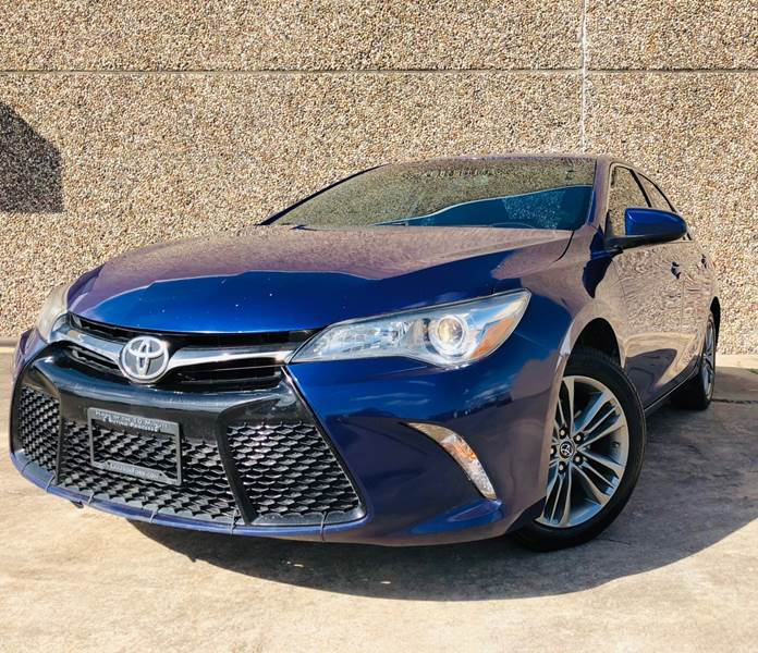 2016 toyota camry se 4dr sedan in rosenberg tx richmond auto sales. Black Bedroom Furniture Sets. Home Design Ideas