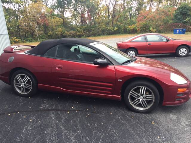 2003 Mitsubishi Eclipse Spyder for sale at Toys With Wheels in Carlisle PA