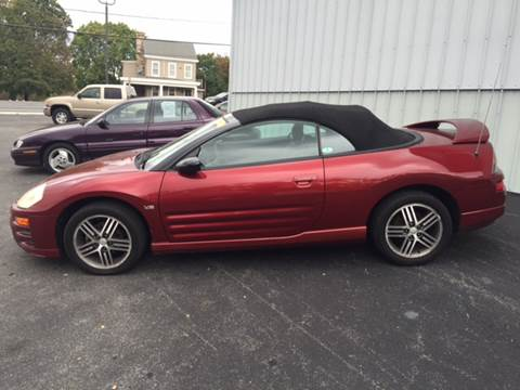 2003 Mitsubishi Eclipse Spyder for sale in Carlisle, PA