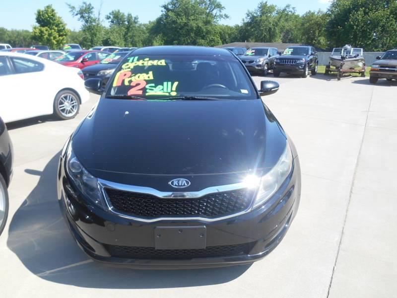 2011 Kia Optima for sale at Revolution Motors LLC in Wentzville MO