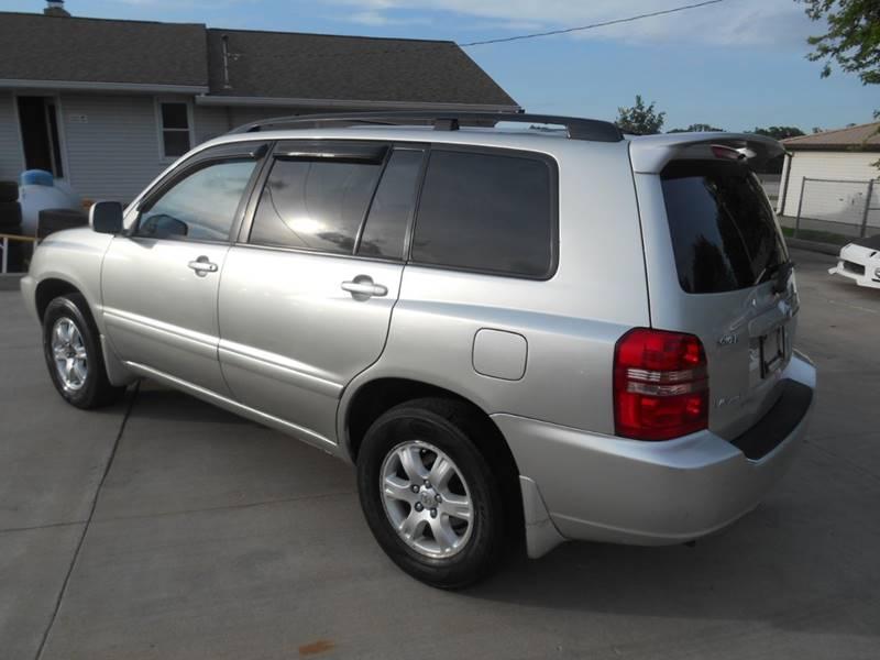 2003 Toyota Highlander for sale at Revolution Motors LLC in Wentzville MO