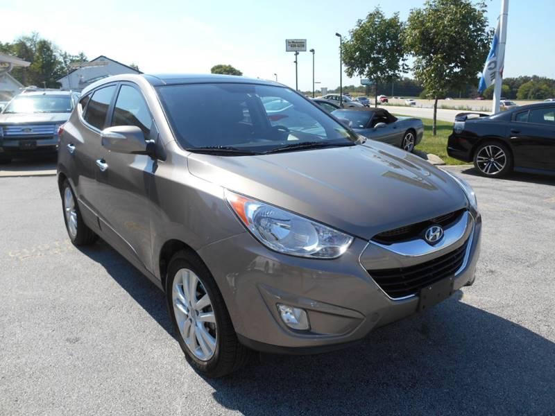 2011 Hyundai Tucson for sale at Revolution Motors LLC in Wentzville MO