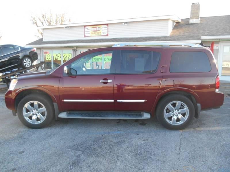 2010 Nissan Armada For Sale At Revolution Motors LLC In Wentzville MO