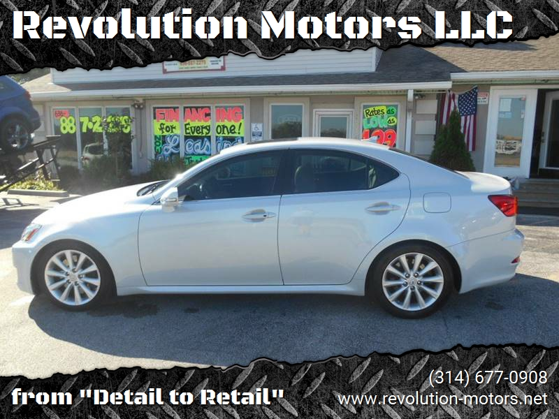 2009 Lexus IS 350 For Sale At Revolution Motors LLC In Wentzville MO