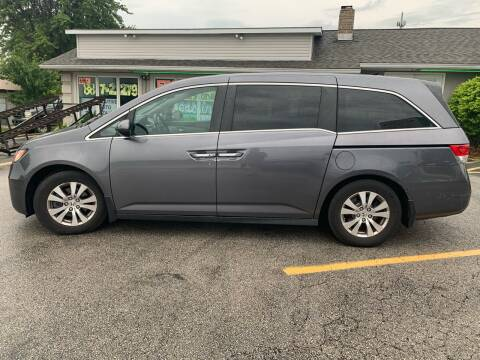 2014 Honda Odyssey for sale at Revolution Motors LLC in Wentzville MO