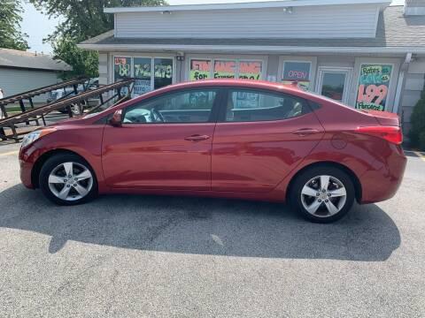 2013 Hyundai Elantra for sale at Revolution Motors LLC in Wentzville MO
