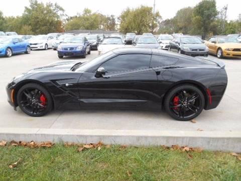 2015 Chevrolet Corvette for sale at Revolution Motors LLC in Wentzville MO