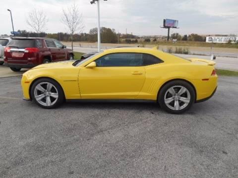 2014 Chevrolet Camaro for sale at Revolution Motors LLC in Wentzville MO