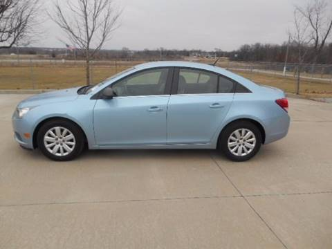 2011 Chevrolet Cruze for sale at Revolution Motors LLC in Wentzville MO