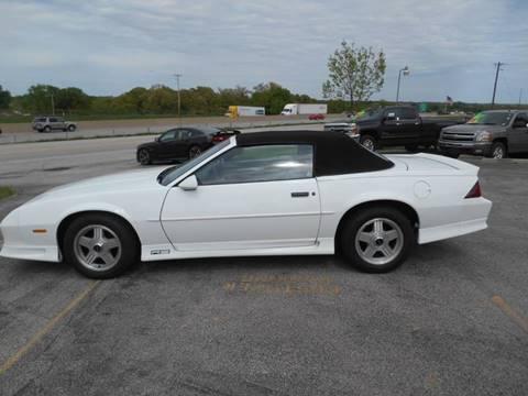 1992 Chevrolet Camaro for sale at Revolution Motors LLC in Wentzville MO