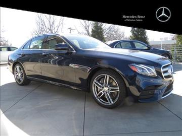 2017 Mercedes-Benz E-Class for sale in Winston Salem, NC