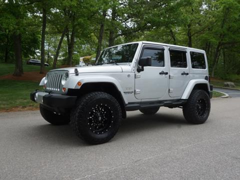 2012 Jeep Wrangler Unlimited for sale in Holliston, MA