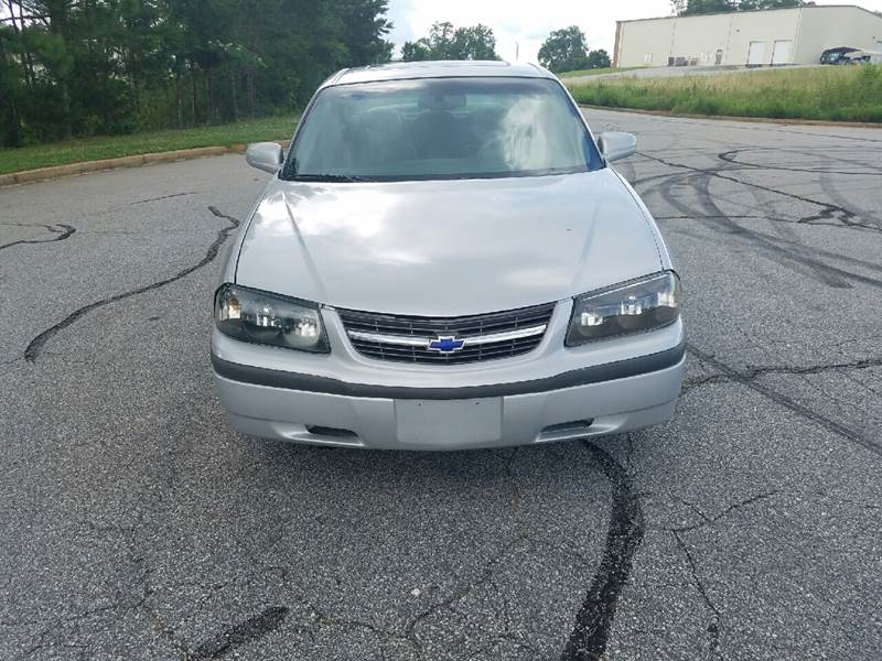 2003 Chevrolet Impala for sale at Palmetto Used Cars in Piedmont SC