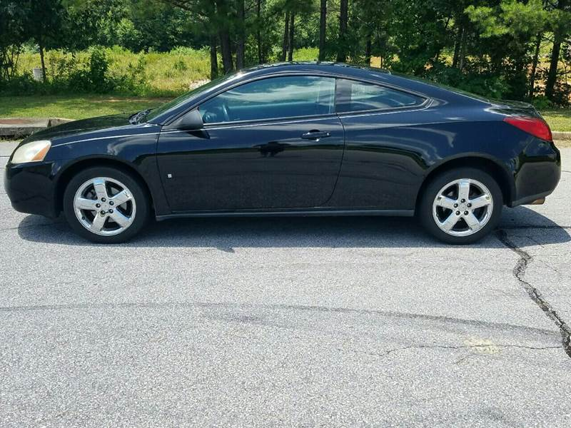 2007 Pontiac G6 for sale at Palmetto Used Cars in Piedmont SC