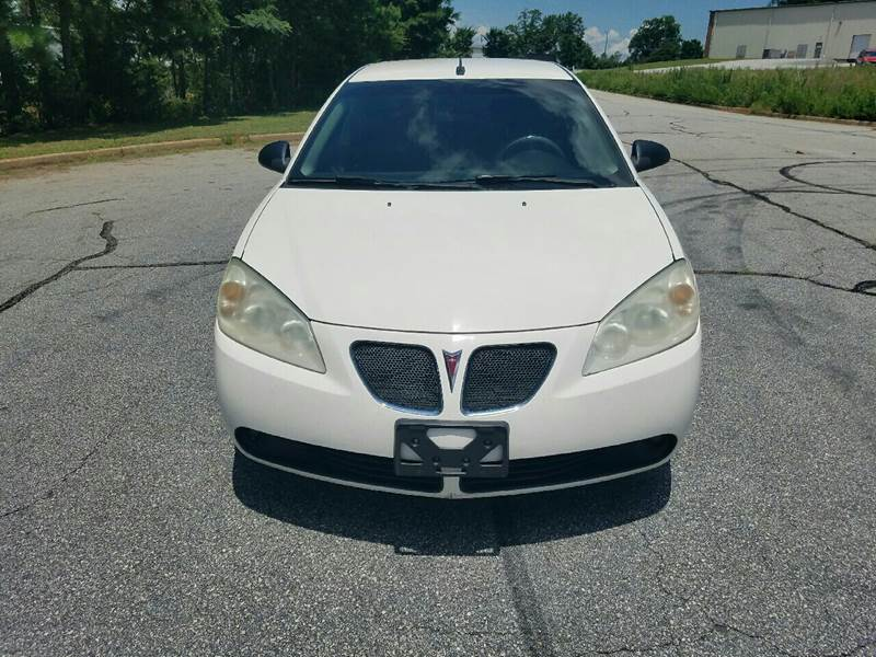 2008 Pontiac G6 for sale at Palmetto Used Cars in Piedmont SC